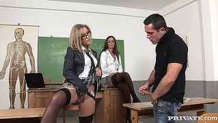 Colette 022, Hot School Group Orgy