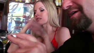 Blond Milf Aimee Smells The Scent Of A Good Cock