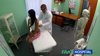 Fakehospital Teen Not On Birth Control Bends Over For Doctor...