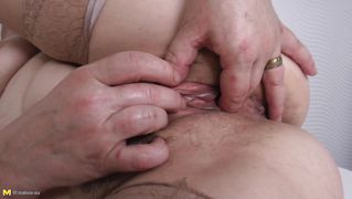 Chubby Mature Fucks Herself Dirty