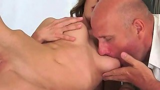 Grandpa Fucks Naughty Teen Pretty Hard