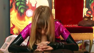 Molly Bennett Stays On Her Knees With Huge Cock In Her Mouth