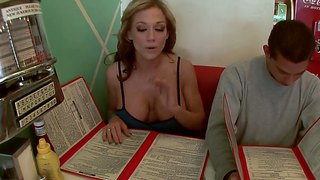 Nikki Sexx Admires Us With Her Enhanced Tits