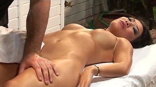 Avsugning Massage Fitta Anal