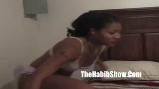 ghetto black bitch humiliated