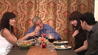 After Dinner With Parents Couple Gets Laid