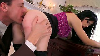 mature horny boss lady