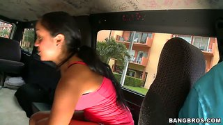 Honey Luau Gets Fucked On The Bang Bus Hard