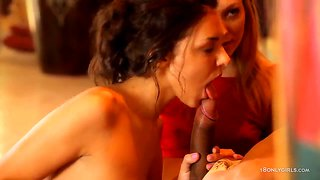 Two One Cock Sucking With Natasha Von And Penelope