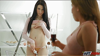 Anita, Erica And A Big Vibrator