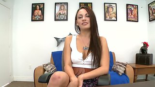 Texan Babe Nova Brooks Nude On Casting Couch