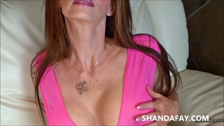 Shandafay's Amazing Mouth Gets A Load Of Jizz!