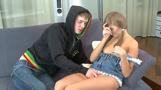 Darina C Gets Mouth Stuffed By Hot Guy