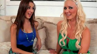 Mila Gabor Gets Laid By Bootylicious Molly Cavalli