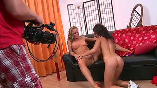 Sexy Lesbian Whores Silvia Saint And Tea Jul In Their First Scene!