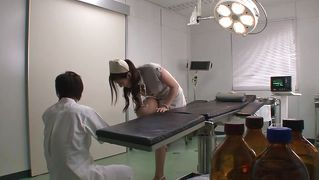 Japanese Nurse Needs To Piss