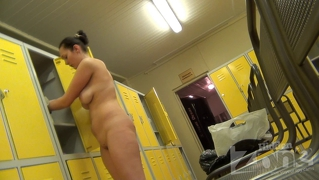 Young Woman Takes Off Her Clothes, Her Body Is Perfect