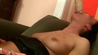 Girl Gets Her Wet Pussy Fisted Rough