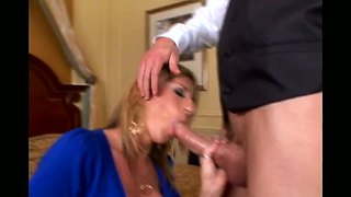 Jordan Ash Makes A Deep Sucking Of  Sutherland's Dick