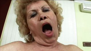Big Mouth Granny Wants To Fuck