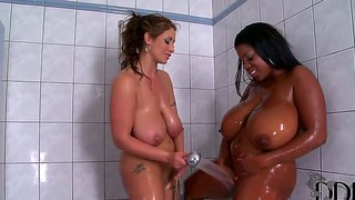 Busty Sluts Eva Notty And Maserati In Kinky Interracial Lesbian Softcore