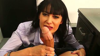 Hot Stud Bruce Venture Enjoys Having His Teacher Eva Karera Blowing And Fucking His Long Dick