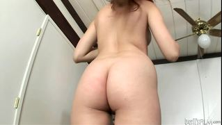 Cute Red Head Fucks Her Own Horny Cunt With A Huge Dick Toy!