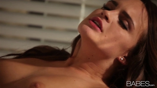 Incredibly Hot Natural Brunette Teal Conrad Is Seduced
