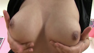 Sexy Christy Pumps Her Pussy Masturbation