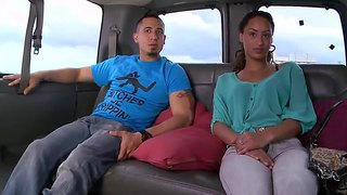 Amateur Honey Yasmine Chatting On The Bang Bus