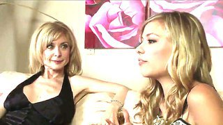 Mature Nicole Ray And Young Nina Hartley Have A Dirty Talk