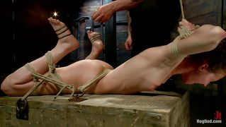Bitch Bonnie Tied And Punished