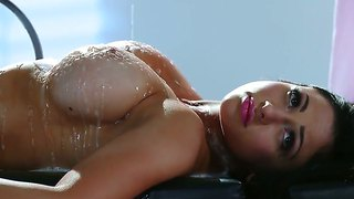 Big Titted Audrey Bitoni At The Dirty Massage Session