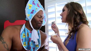 Kiera King Fucked By A Black Guy Acting Like A Baby