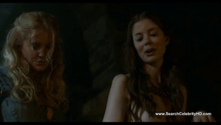 Charlotte Hope And Stephanie Blacker - Game Of Thrones