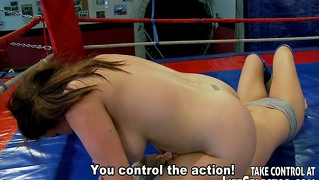 Lesbian Box Fighting And Hardcore Anal Action