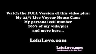 Lelu Love-Webcam Fuck Cum On Tits