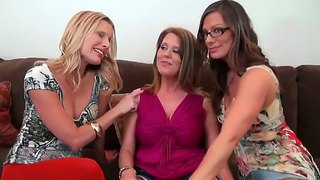 Brianna Ray, Grace And Hot Kristen Cameron Are Having Intense Lesbian Solo Session