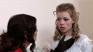 Magdalene St. Michaels And Nicole Ray In Vintage Sex