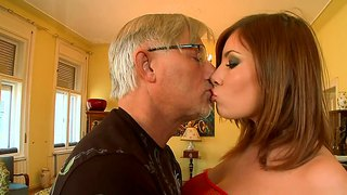 christoph clark stuffs donna bell with his mature cock