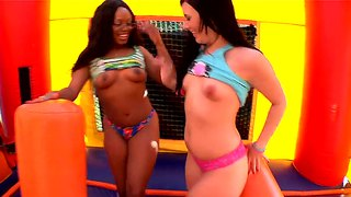 Ashli Orion And Jayden Starr Tease With Big Asses