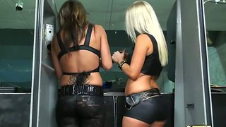 Leathery Asses Shoot Easy Targets