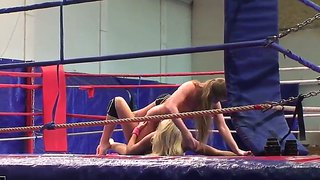 Cathy Heaven And Ivana Sugar Fighting And Fucking