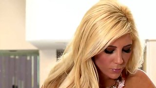 Tasha Reign Exposes And Plays With Vibrator