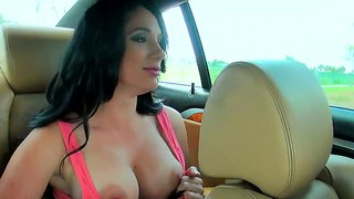 Pamela Foxx Feels Strong Hands On Her Breasts