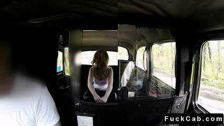 Great Ass Blonde Fucked In Fake Taxi In Public