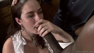 Nicole Ride Takes Of Her Panties Before His Cock Will Penetrate Her Vag