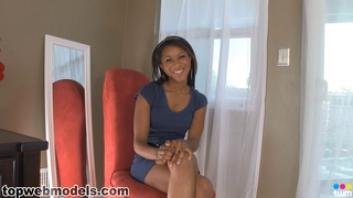 Teen Cali Ebony Blowjob Master