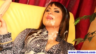 Bukkake Babe Solo Babe Gets Facial At The Gloryhole