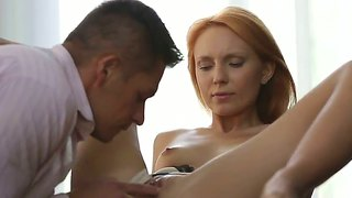 Nataly Von Received A Softcore Penetration From Her Boyfriend